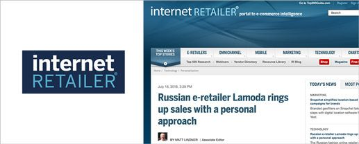 Russian e-Retailer Lamoda Rings Up Sales with a Personal Approach