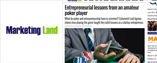 Entrepreneurial Lessons From an Amateur Poker Player