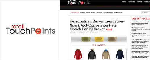 Personalized Recommendations Spark 45% Conversion Rate Uptick For Fjallraven