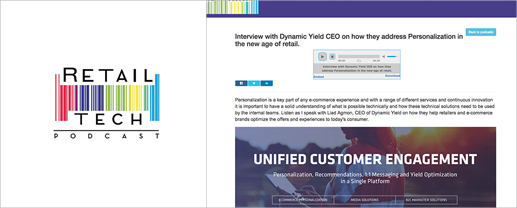 Interview with Dynamic Yield CEO on Personalization in the New Age of Retail
