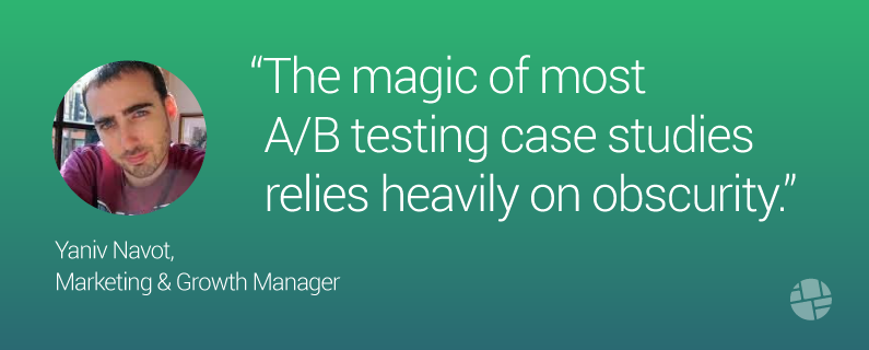 5 Reasons Why I Stopped Following A/B Testing Case Studies