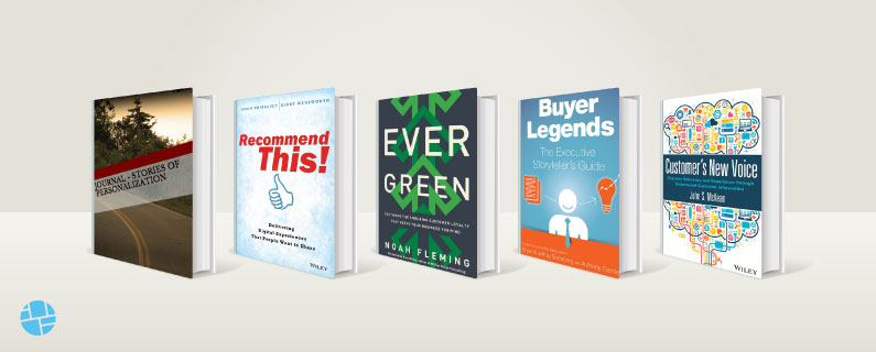 Marketing Personalization Book Covers