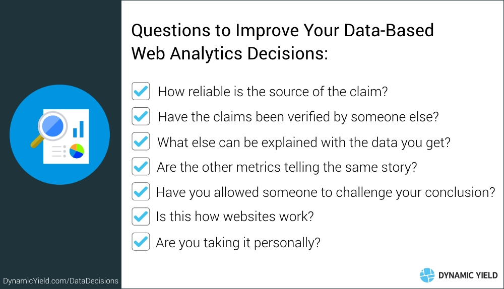 Questions to Improve Your Data-Based Web Analytics Decisions
