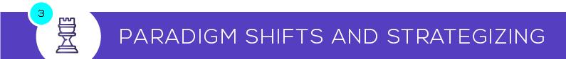 Paradigm Shifts and Strategizing