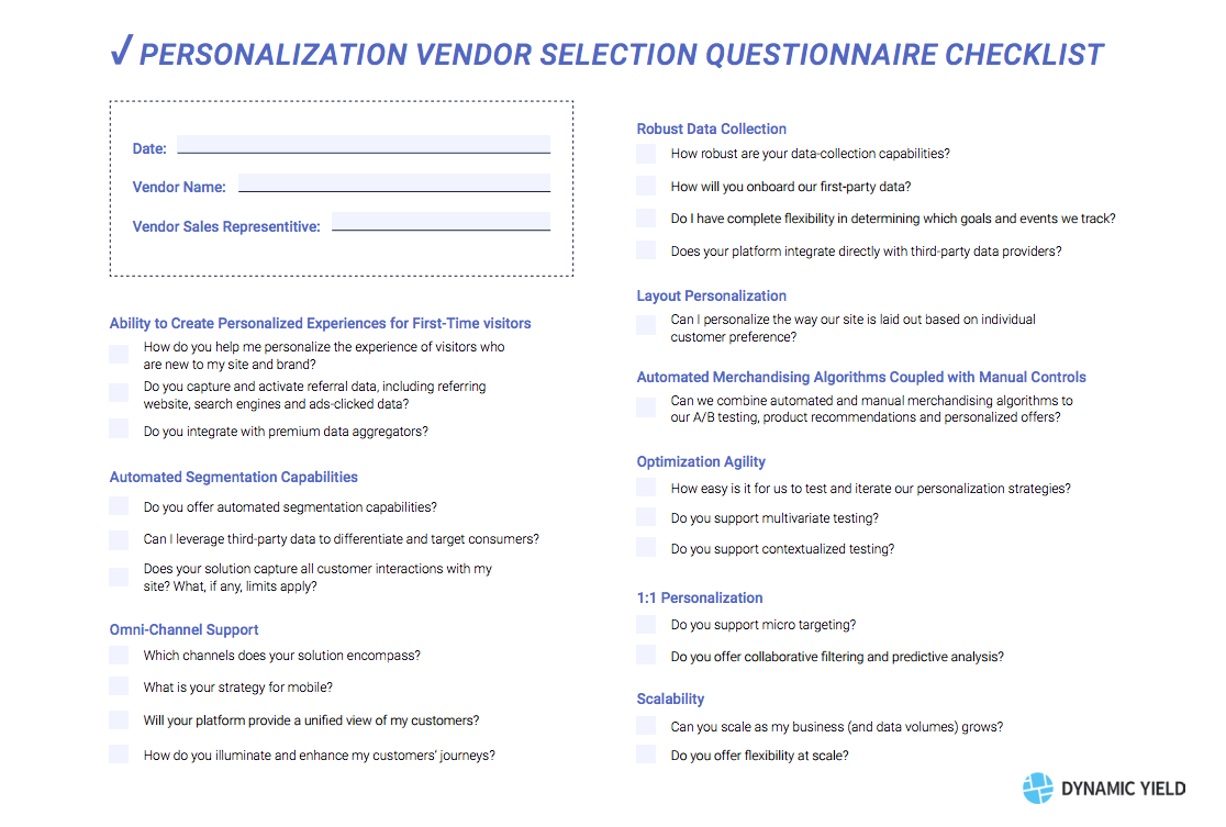 9 Must-Haves for Choosing an eCommerce Personalization Solution