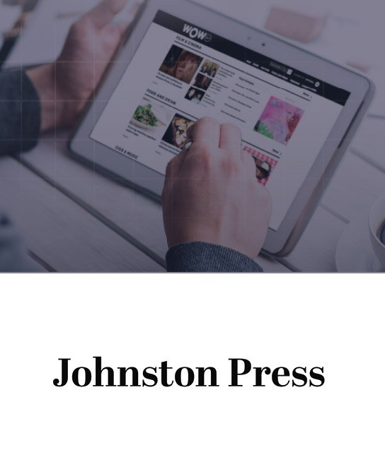 Johnston Press Case Study