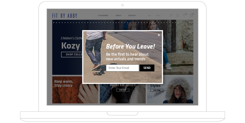 How to Get More Newsletter Subscribers using Exit Intent Overlays