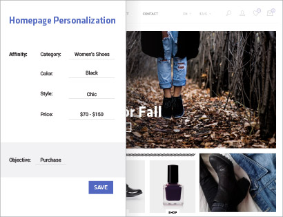 Experience Personalization