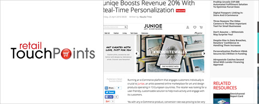 Juniqe Boosts Revenue 20% With Real-Time Personalization Featured