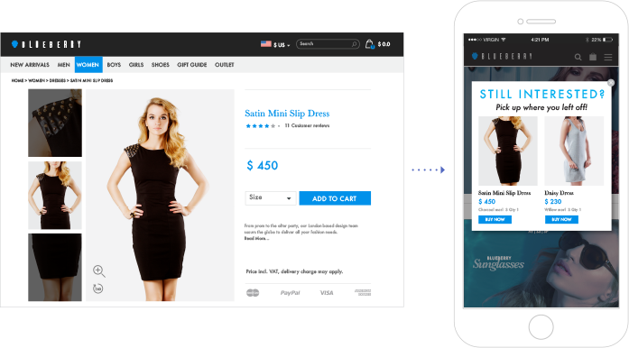 Mobile Web Personalization