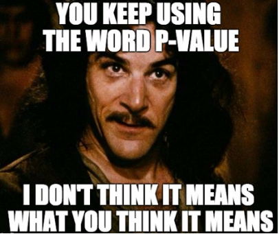 P-Value Meme