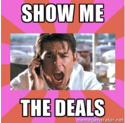 show me the deals