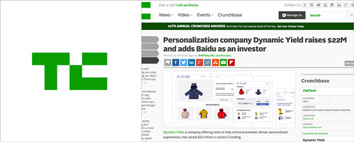 Personalization company Dynamic Yield raises $22M and adds Baidu as an investor