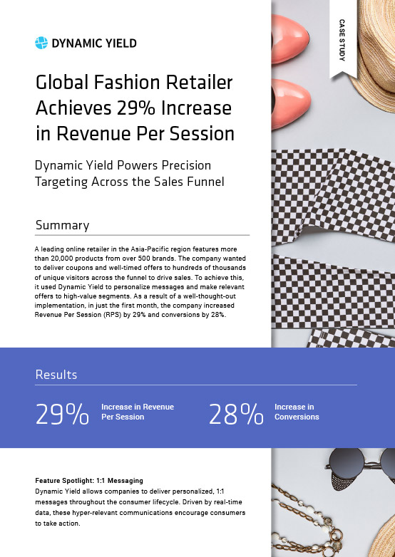 29% Increase in Revenue Per Session