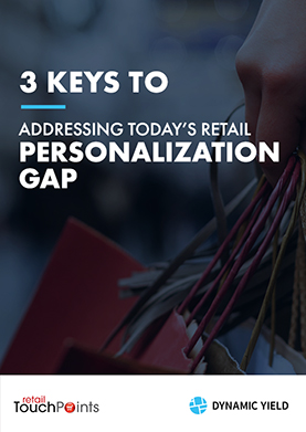 Retail Personalization Gap