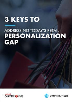 Retail Personalization Gap
