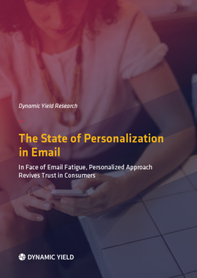 The State of Personalization in Email