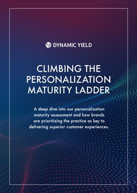 Climbing the Personalization Maturity Ladder