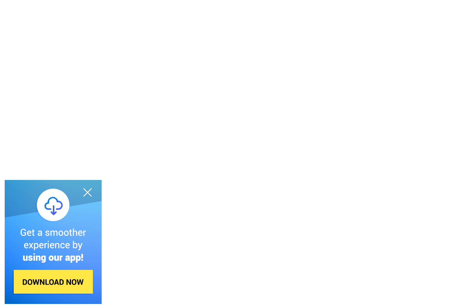Download App Corner Message — Dynamic Yield