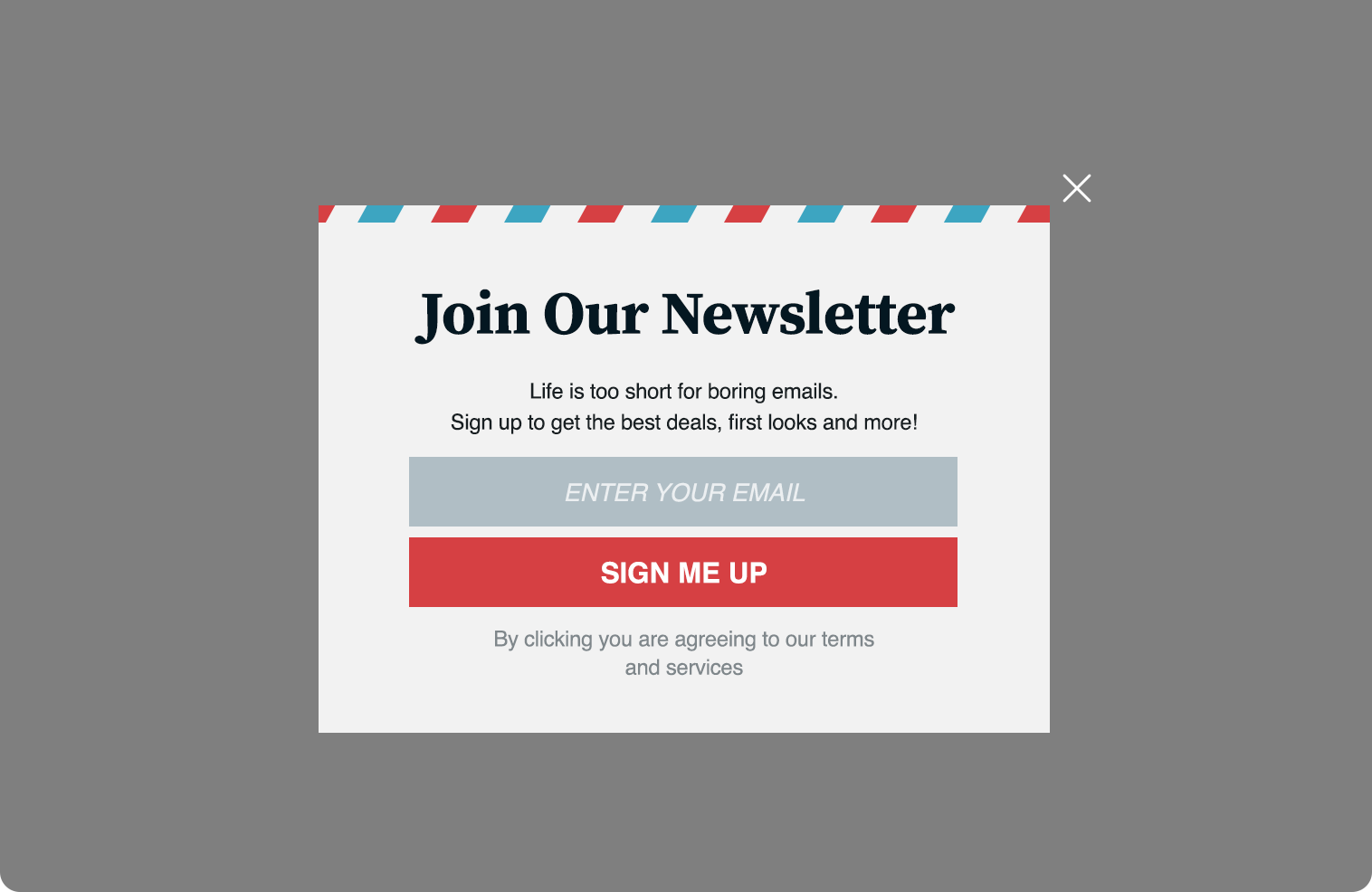 1f09ff7404 Subscribe to Newsletter Website Overlay — Dynamic Yield