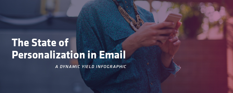 Infographic on The State of Personalization in Email