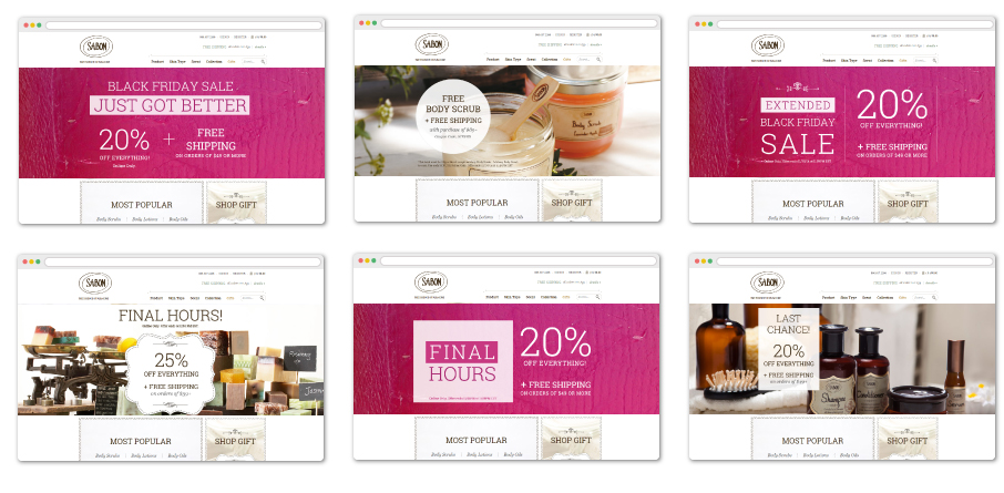 Sabon Personalization Use Case