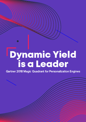 Gartner 2018 Magic Quadrant for Personalization Engines