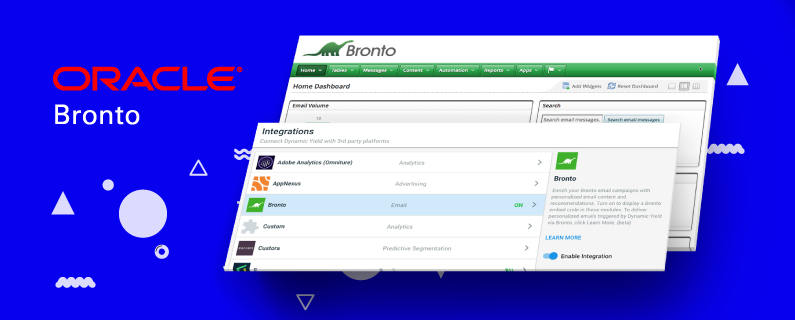 Trigger Optimal Email Experiences with Our New Oracle Bronto Integration