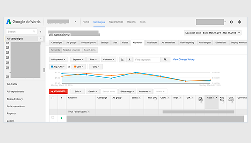Dynamic Yield and Google Ads integration screenshot