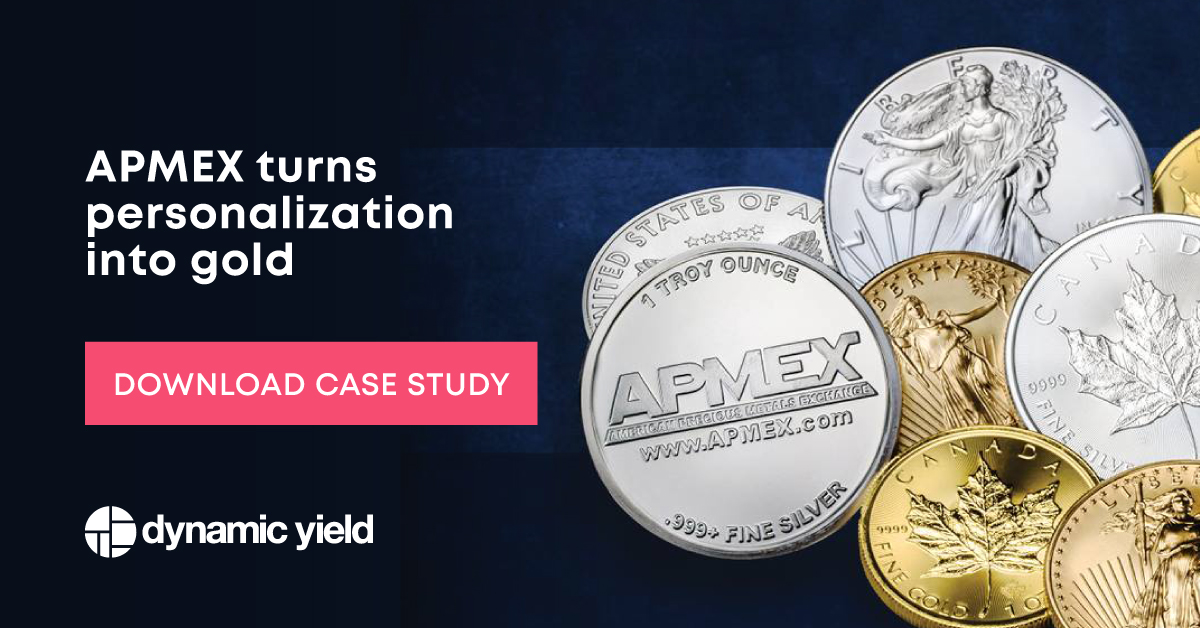 APMEX turns personalization into gold (Case Study) — Dynamic Yield
