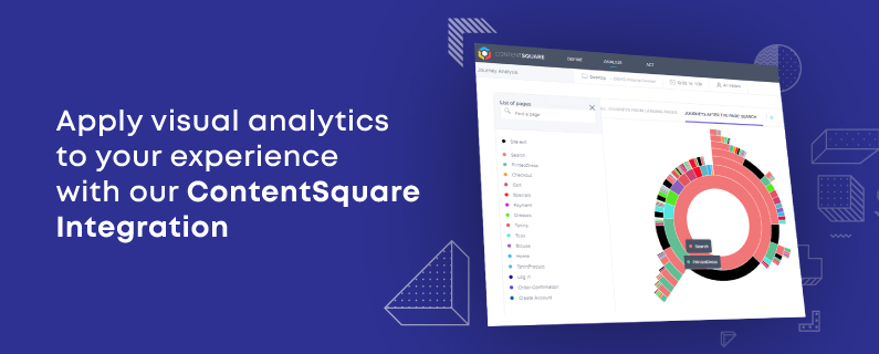 Apply visual analytics to your personalization campaigns with our ContentSquare integration