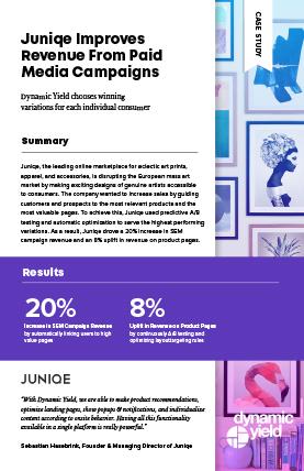 Juniqe Case study cover