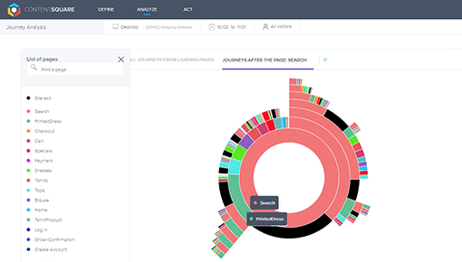 Dynamic Yield and ContentSquare integration screenshot 1
