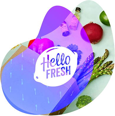 HelloFresh case study header image