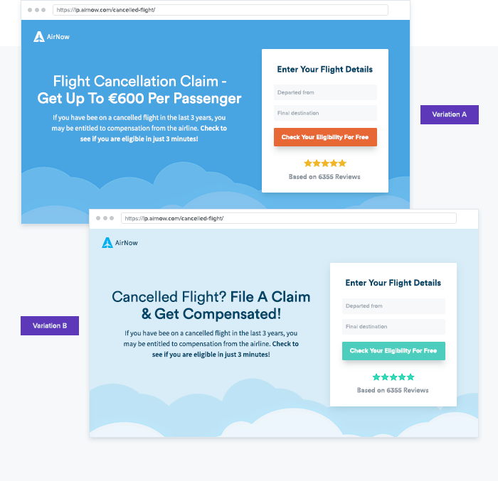 Web Personalization use case: Designing personalized landing pages based on user behavior
