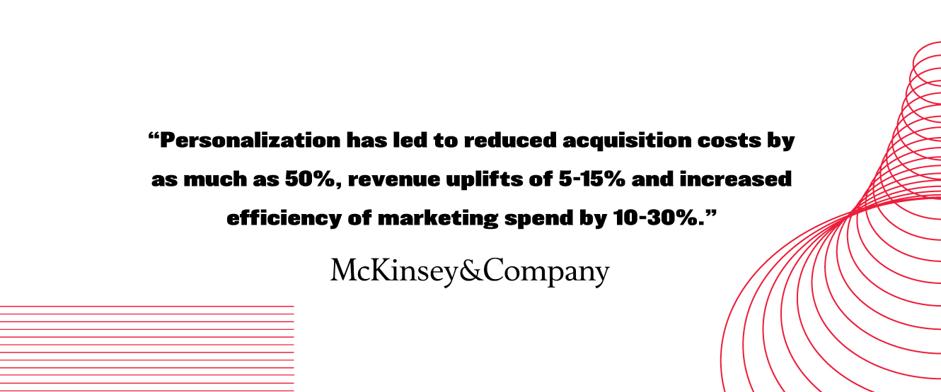 McKinsey Personalization Quote