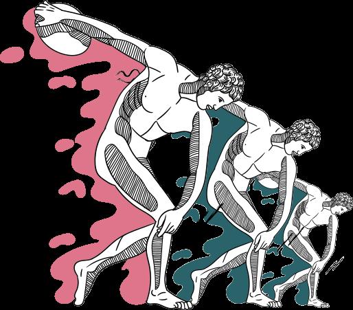 discus men