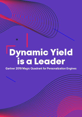 Gartner 2019 Magic Quadrant for Personalization Engines