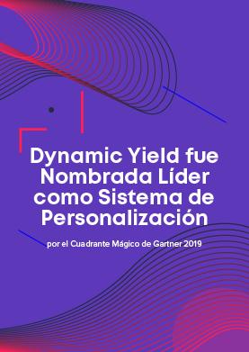 Dynamic Yield nombrada Líder – Gartner 2019 MQ for Personalization Engines