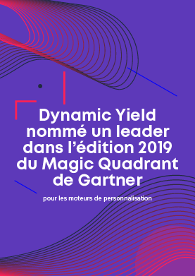 Dynamic Yield est un leader – Gartner 2019 MQ for Personalization Engines