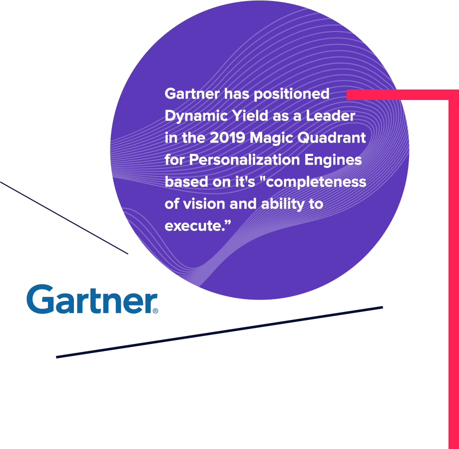 Dynamic Yield Named A Leader in Gartner's MQ for Personalization