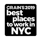 Crain's best places in NYC Badge