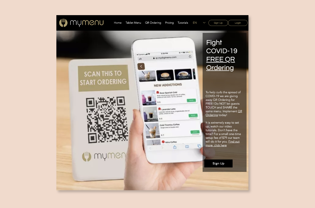 MyMenu helping restaurants get online during COVID-19