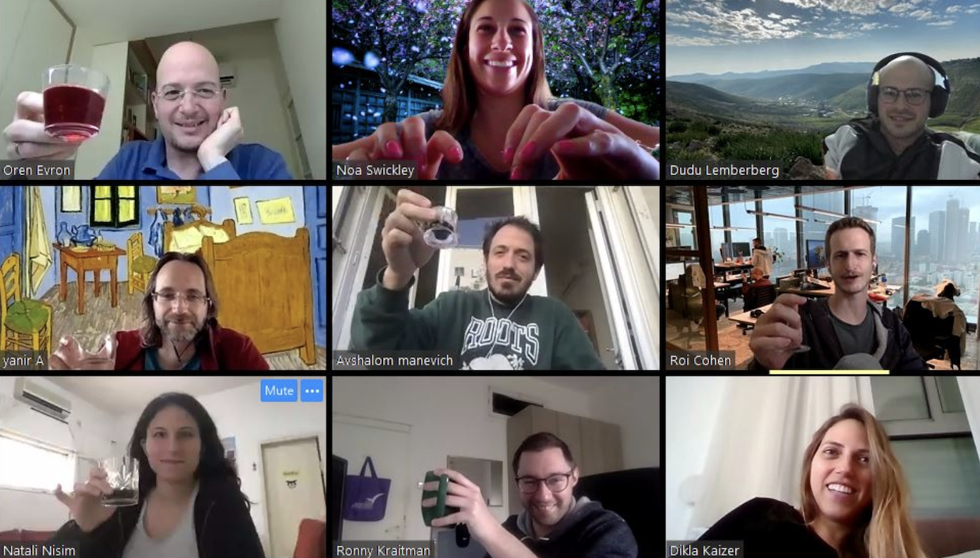 Maintaining an engaged remote workforce with virtual happy hours