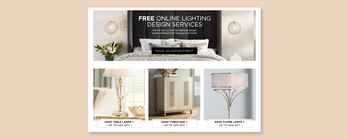 Lamps Plus Free Online Lighting Design Services
