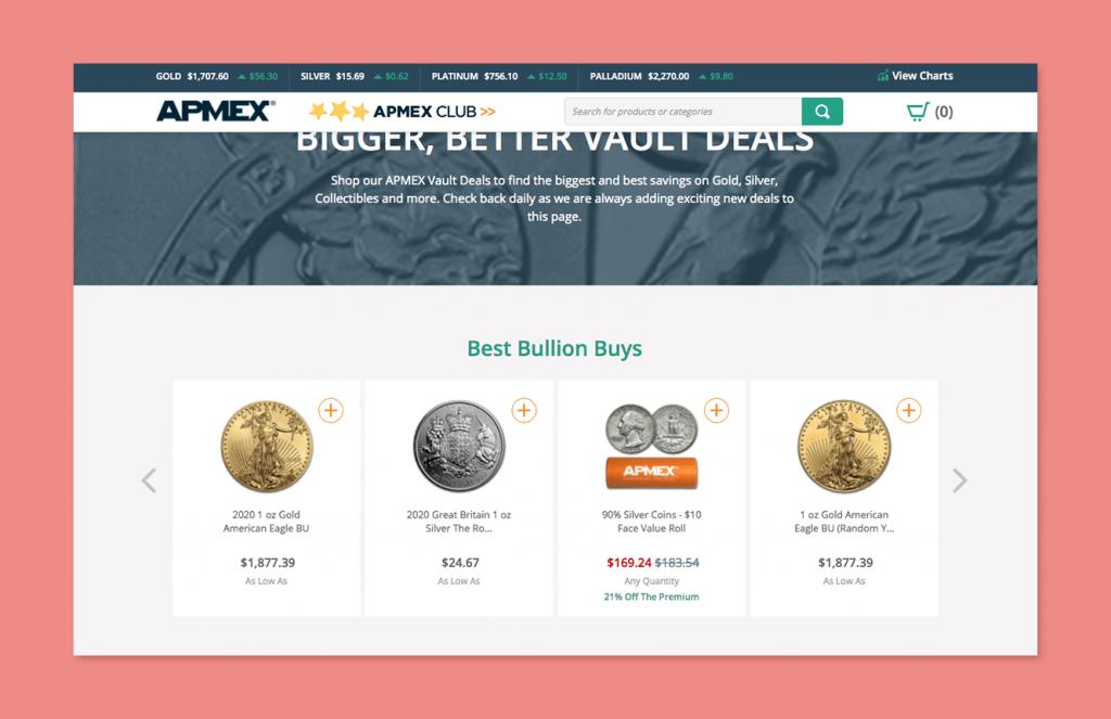 best buys apmex