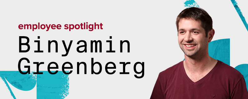 How full-stack developer Binyamin Greenberg pushes the envelope of technology