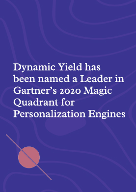 Gartner 2020 Magic Quadrant for Personalization Engines