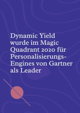 Gartner Magic Quadrant 2020 für Personalisierungs-Engines