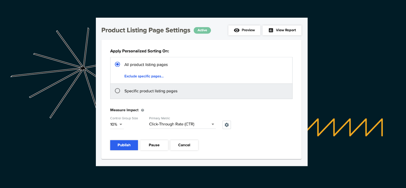 Creating a Personalized Product Listing Page Campaign in Dynamic Yield